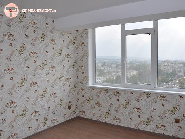 Закончен ремонт трехкомнатной квартиры в Симферополе