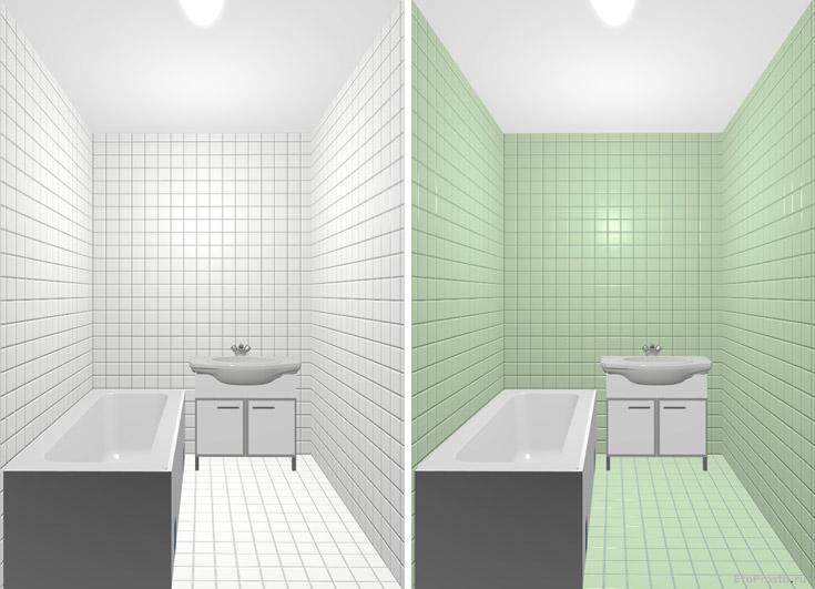 Красивый дизайн в ванной комнате
